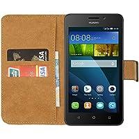 Ambaiyi Genuine Pelle Portafoglio Custodia Flip Case Cover per Huawei