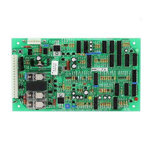 Electric Motor-generator-kit (Generac 076009A OEM RV Generator PP Logic ASY Control Board - Replacement Part, 50/70 Hz)