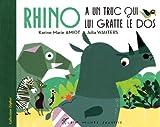 Rhino a un truc qui lui gratte le dos
