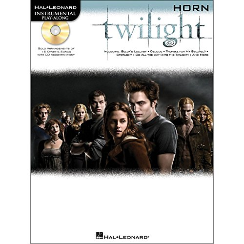 HAL LEONARD INSTRUMENTAL PLAY ALONG: TWILIGHT (HORN)  PARTITURAS  CD PARA CORNETA