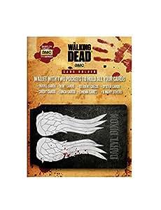 The Walking Dead Porte-Carte Bancaire Pour Fans - Daryl Dixon, Ailes (10 x 7 cm)