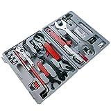 PrimeMatik - Cassetta degli Attrezzi per Biciclette Kit da 44 Strumento