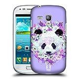 Head Case Designs Panda Verwunschenen Tiere Ruckseite Hülle für Samsung Galaxy S3 III Mini