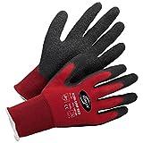 Forsthandschuhe Montagehandschuhe Handschuhe Kori-Grip - Größe 10 - rot/schwarz