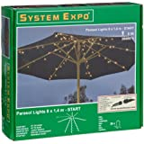 System Expo 484-37 Start Guirlande lumineuse pour parasol