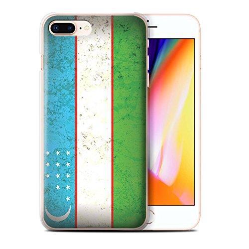 Stuff4 Hülle / Case für Apple iPhone SE / Usbekistan/Usbekistan Muster / Asien Flagge Kollektion Usbekistan/Usbekistan