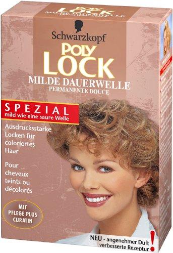 Poly Lock Milde Dauerwelle für coloriertes Haar, 1er Pack (1 x 160 ml) - Haar-dauerwelle