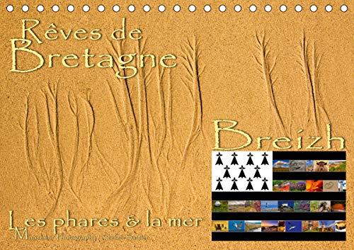 Rêves de Bretagne - Breizh (Calendrier chevalet 2020 DIN A5 horizontal)