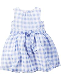 Carter's Check Dress, Blue/White