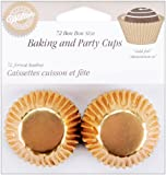 Wilton Foil Confectionary Cases, Pack of 75 - Gold