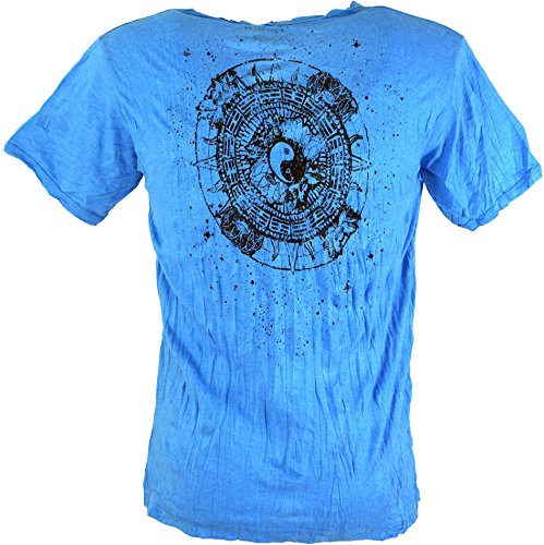 Pure T-Shirt Ying Yang / Sure T-Shirts Blau