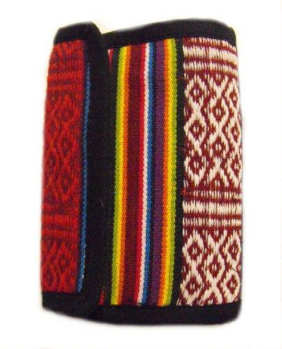 Rainbow Geldbörse - Handgefertigt in Nepal - Stilvoll, Bunt & Fair Trade - 100% baumwolle