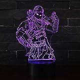3D Illusion Nuit Lumière Win-Y LED Bureau Table Lampe 7 Couleur Tactile Lampe Maison Chambre Bureau...
