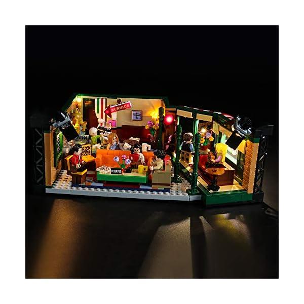 BRIKSMAX Kit di Illuminazione a LED per Lego Idee Central Perk,Compatibile con Il Modello Lego 21319 Mattoncini da… 1 spesavip