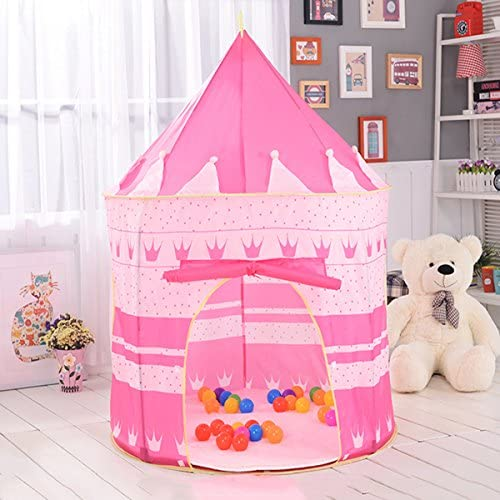 KINGDUO Kids Play Play Play Portable Tente  s Indoor Outdoor Océan Piscine À Balles Pliage Cubby Toys Château-Rose f4c01a