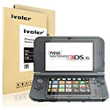 iVoler [6 Stücke] Schutzfolie Displayschutzfolie für Nintendo New 3DS XL, [3D Vollständige Abdeckung] [Anti-Kratz] [Blasenfrei] HD TPU Weich Folie für Nintendo New 3DS XL