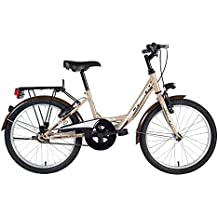 F.Lli Schiano Mirta 1V Bicicleta, Beige/Marrón,  20