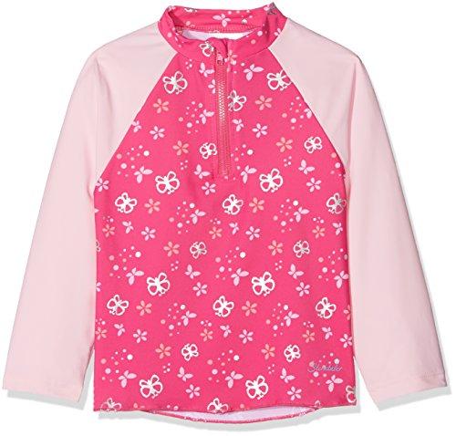 Sterntaler Kinder Mädchen Schwimmshirt, Langarm-Badeshirt, UV-Schutz 50+, Alter: 6-12 Monate, Größe: 74/80, Pink/Rosa