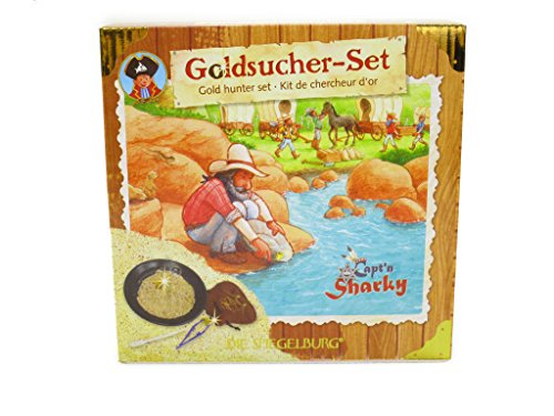 Die Spiegelburg Kit de chercheur d'or Capt'n Sharky