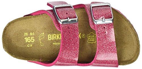 Birkenstock Arizona, Ciabatte Bambina Pink (MAGIC Galaxy Bright Rose)