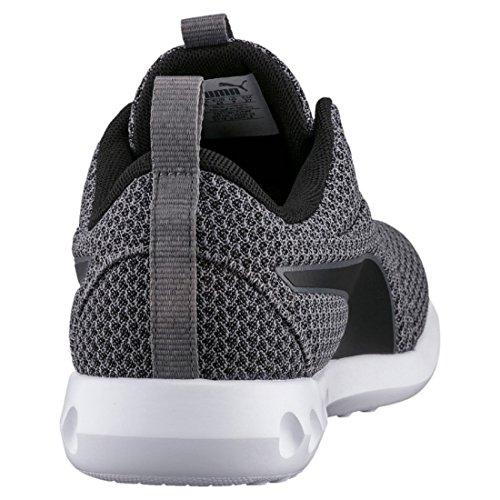 Puma Herren Carson 2 Knit Outdoor Fitnessschuhe Grau (Quiet Shade-Black)
