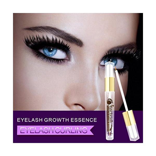 Jaminy 3ml pestañas mejorador cejas pestañas pestañas rápido crecimiento suero líquido ojos maquillaje