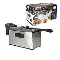 MaxiMatic EDF-3507 Elite Cuisine Immersion Deep Fryer 3.5-Quart Stainless Steel