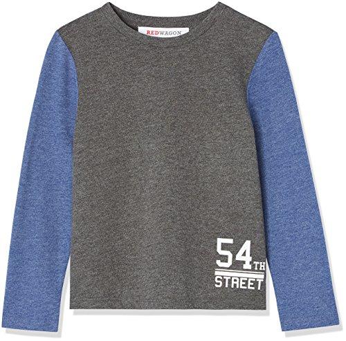 RED WAGON Jungen Sweatshirt, Grau, 140 (Herstellergröße: 10 Jahre)