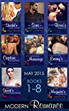 Modern Romance May 2015 Books 1-8 (Mills & Boon e-Book Collections)