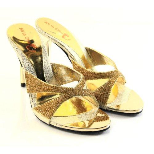 Unknown, Sandali donna Oro (oro)