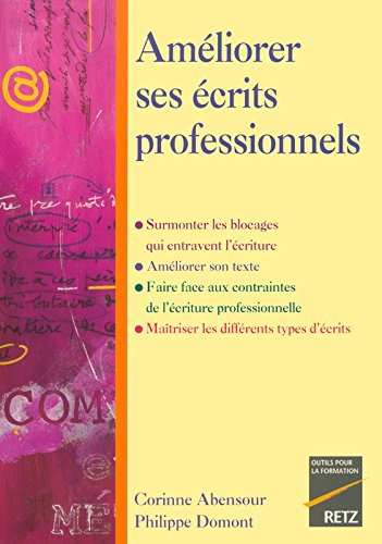 IAD - AMELIORER ECRITS PROFESS par CORINNE ABENSOUR