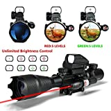 Best Rifle Scopes - HMELOVE Tactical Rifle Scope (3 IN 1) 4-16x50EG Review
