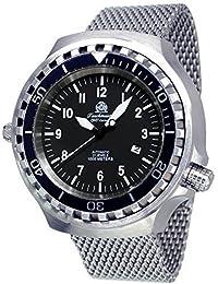 Tauchmeister 52mm Case Diver–Reloj Movimiento Automático t0286mil