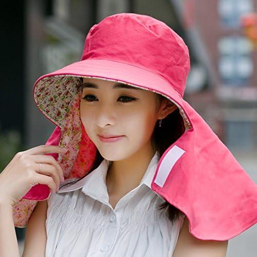 Baodery L'Estate È Femmina - - - Outdoor Sun Cappuccio Di Prossoezione Prossoeggono I Capezzoli Irritati Sulla Faccia - Sun Hat Hat Hat Lungo A Guidare Il Sun.,Dimensione (54),59Cm rosa rosso   eccellente    Ottima classificazione    Qualità Eccellen 4bff89