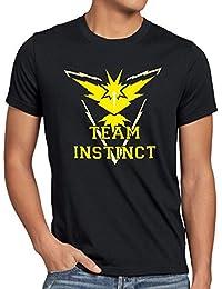 CottonCloud Team Instinct Herren T-Shirt Gelb Instinkt