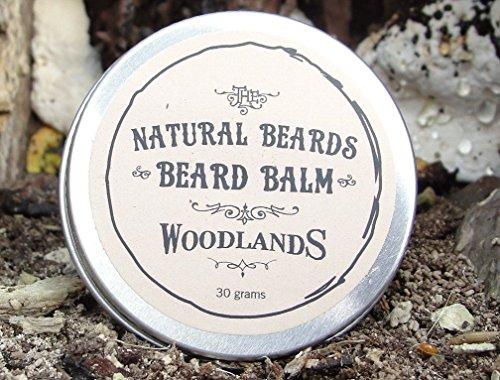 lm 30g natur Leave In Bart Conditioner für Herren. Verhindert, dass Bart Itch und in Flockenform Haut. Mit Sackleinen Tasche. (Sackleinen-tasche)