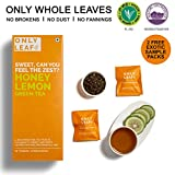 #10: Onlyleaf Honey Lemon Green Tea, 27 Tea Bags with 2 Free Exotic Samples
