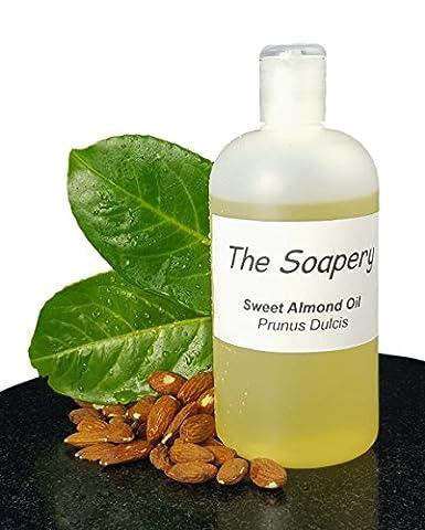 Mandelöl - 500ml kosmetische Qualität für Massage, Aromatherapie, Seifen, Lotionen.