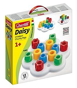 Quercetti - 13/4162 - Juego Encajables Geokid Daisy Basic Quercetti 12m+
