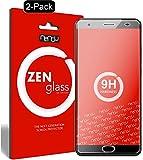 nandu I ZenGlass [2 Stück] Flexible Glas-Folie für Oukitel K6000 Plus Panzerfolie I Bildschirm-Schutzfolie 9H I (Kleiner Als Das Gewölbte Bildschirm)