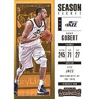 2017–18Dépasse Panini Season Ticket # 52Rudy Gobert Utah Jazz Basketball carte