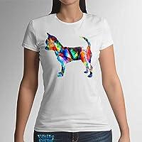 Chihuahua hund Frauen T-Shirt Baumwolle Frauenmode für den Sommer