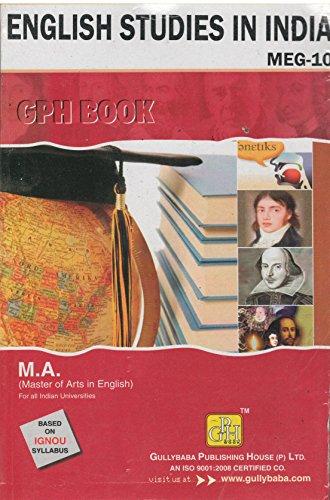 MEG-10 English Studies In India