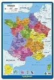 Grupo Erik editores-lamina éducatif Frances Carte de France nouvelles regions...