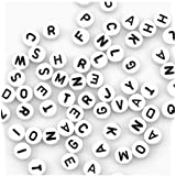BeautyLife 400 Pcs Alphabet Beads