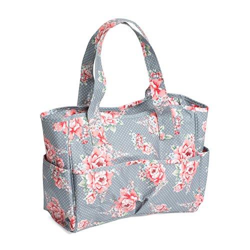 Hobby regalo importar tipo/190   Bolsa con diseño de flores de PVC Craft 12 œ x 39 x 35 cm