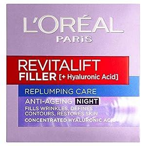 L'Oreal Revitalift Filler Hyaluronic Acid Anti-Ageing Night Cream 50 ml