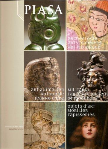 Peintures & Arts Graphiques, Art Religieux: autour de Jeanne d'Arc, Tapis, Tapisseries, Textiles, Mobilier, Objets d'Art, Archéologie, Vente du 16/03/2012 PIASA par Piasa