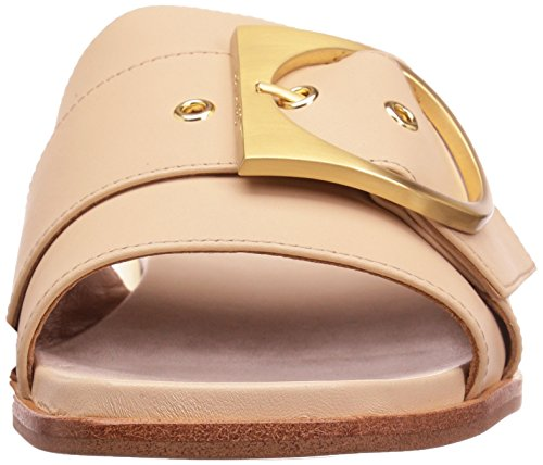 Calvin Klein Anthea Damen Leder Sandale Sand
