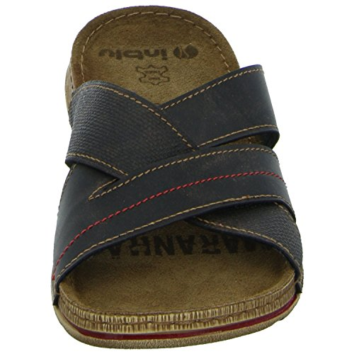 Inblu GG01GM01-043 Herren Pantolette sportlicher Boden Braun (Braun)